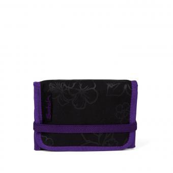 satch Schulzubehör Geldbeutel Purple Hibiscus