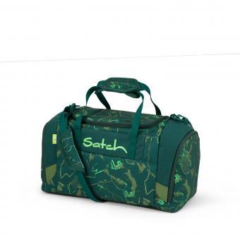 satch Schulzubehör Sporttasche Green Compass