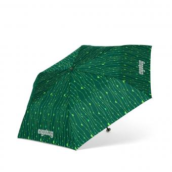 ergobag Schulzubehör Regenschirm RambazamBär/Grüne Lianen