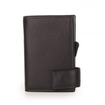SecWal Kartenetui mit Geldbörse Braun