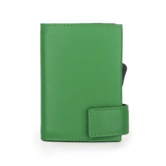 SecWal Kartenetui mit Geldbörse Grün