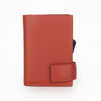SecWal Kartenetui mit Geldbörse Orange
