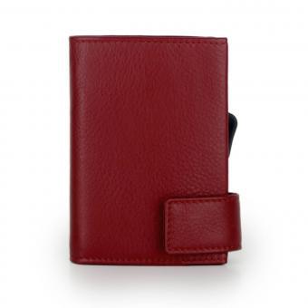SecWal Kartenetui mit Geldbörse Rot