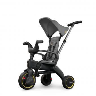 Simple Parenting Doona Liki Trike S1 Faltbares Kinder-Dreirad Grey Hound