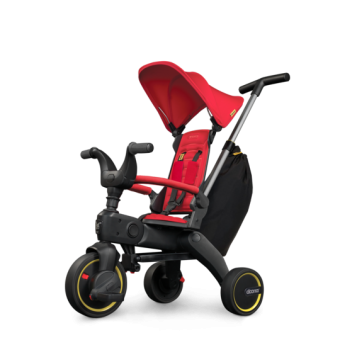Simple Parenting Doona Liki Trike S3 Faltbares Kinder-Dreirad Flame Red
