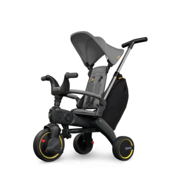 Simple Parenting Liki Trike S3 Faltbares Kinder-Dreirad Grey Hound