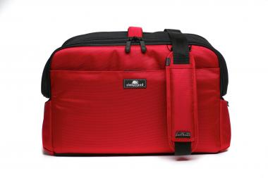 Sleepypod Atom Tier-Transporttasche Kabine Strawberry Red