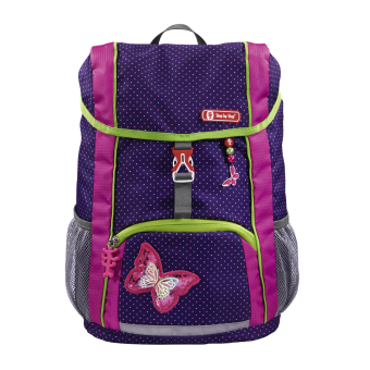Step by Step KID Rucksack Set 3-teilig Shiny Butterfly