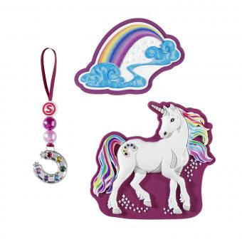 Step by Step Schulzubehör Magic Mags *Schleich Edition' Rainbow Unicorn