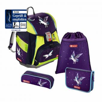 Step by Step Touch 2 DIN Schulranzen-Set, 4-teilig Pegasus Dream