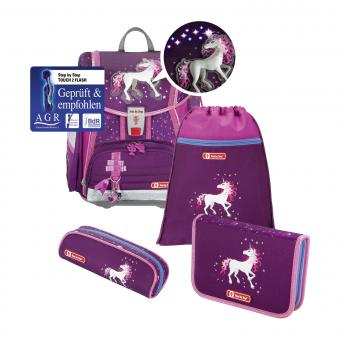 Step by Step Touch 2 Flash *Limited Edition* Schulranzen-Set,4-teilig Unicorn