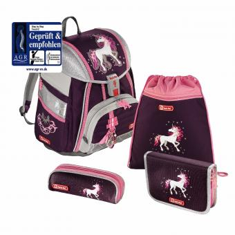 Step by Step Touch 2 Schulranzen-Set,4-teilig Unicorn