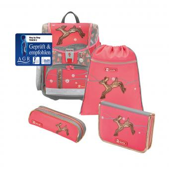 Step by Step Touch 2 Schulranzen-Set,4-teilig Modern Deer
