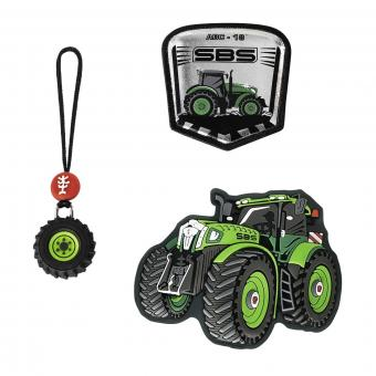 Step by Step Schulzubehör Magic Mags Green Tractor