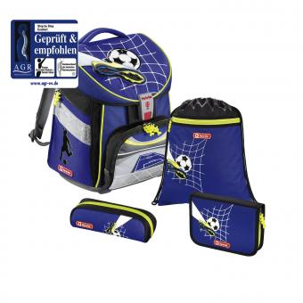 Step by Step Comfort Schulranzen-Set, 4-teilig Top Soccer