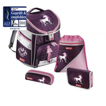 Step by Step Comfort Schulranzen-Set, 4-teilig Unicorn