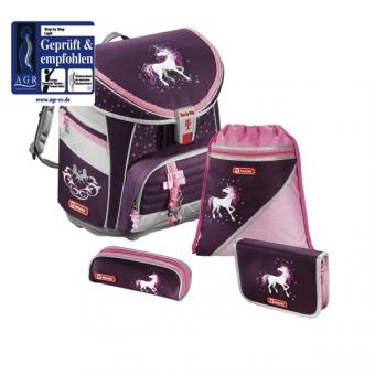 Step by Step Light Schulranzen-Set, 4-teilig Unicorn