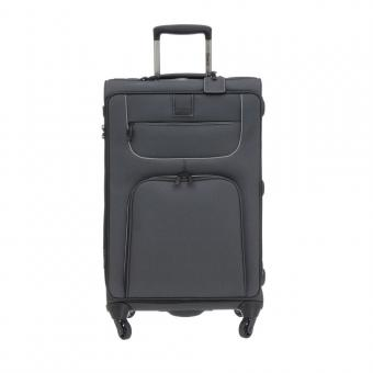Stratic Go First - Stop Later Trolley L 4R 80cm, erweiterbar black
