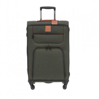 Stratic Go First - Stop Later Trolley L 4R 80cm, erweiterbar khaki