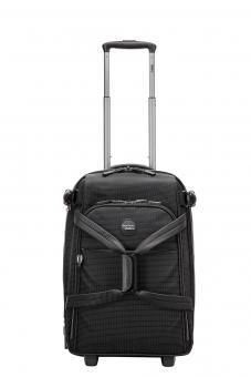 Stratic Go Rollenreisetasche S 2R, erweiterbar black-white