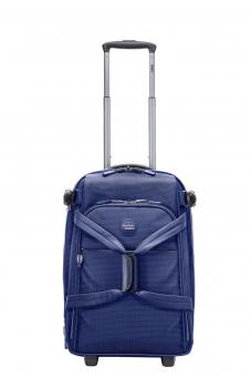 Stratic Go Rollenreisetasche S 2R, erweiterbar blue-white