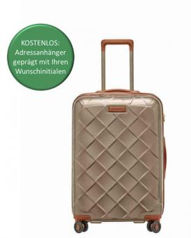 Stratic Leather & More Trolley M QS champagne