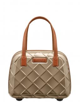 Stratic Leather & More Beauty Case champagne