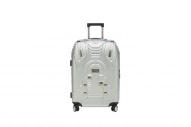 Stratic Compass Trolley L 4R 75cm silber