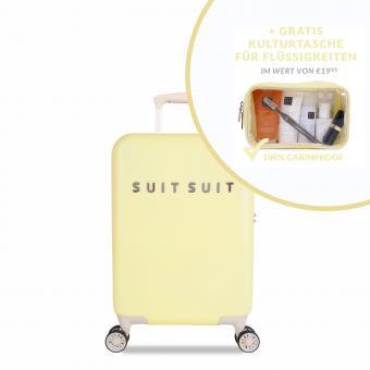 SuitSuit Fabulous Fifties Trolley 55 cm Spinner + Gratis Kulturtasche Mango Cream
