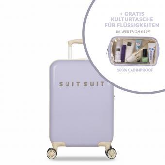 SuitSuit Fabulous Fifties Trolley 55 cm Spinner + Gratis Kulturtasche Paisley Purple