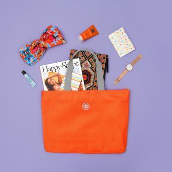 SuitSuit Caretta Strandtasche Popsicle Orange