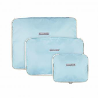 SuitSuit Fabulous Fifties Packing Cube Set (S-M-L) Baby Blue
