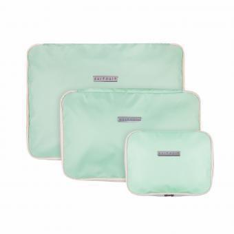 SuitSuit Fabulous Fifties Packing Cube Set (S-M-L) Luminous Mint