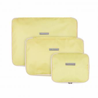 SuitSuit Fabulous Fifties Packing Cube Set (S-M-L) Mango Cream