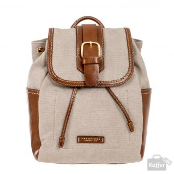 The Bridge Auster Rucksack braun
