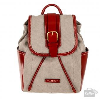 The Bridge Auster Rucksack rot
