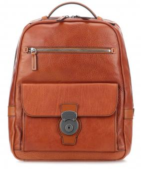 The Bridge Capalbio Laptop Rucksack Cognac