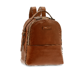 The Bridge Pearldistrict Rucksack 26 cm Braun