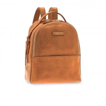 The Bridge Pearldistrict Rucksack 26 cm Cognac