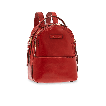 The Bridge Pearldistrict Rucksack Rote Johannisbeere/Gold