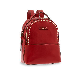 The Bridge Rock Rucksack Rote Johannisbeere/Gold