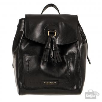 The Bridge Santacroce Rucksack nero/gold