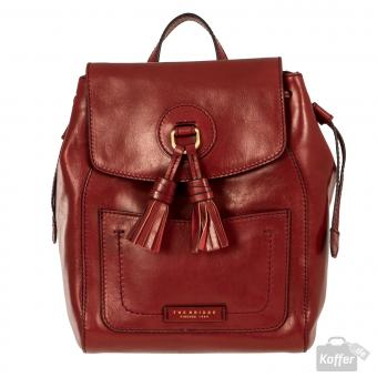 The Bridge Santacroce Rucksack red currant/gold
