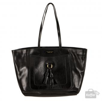 The Bridge Santacroce Shopper nero/gold