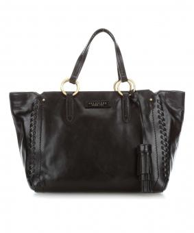 The Bridge Vallombrosa Shopper Schwarz/Gold