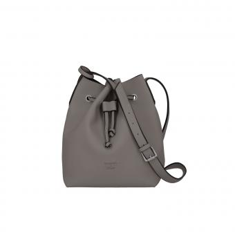 Titan Barbara Pure Bucket Bag 22cm Grey
