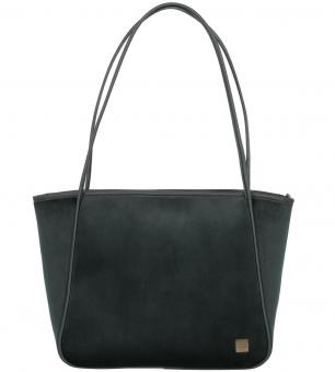 Titan Barbara Velvet Shopper Forest Green