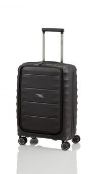 Titan Highlight Trolley S 4 Rollen mit Vortasche Black