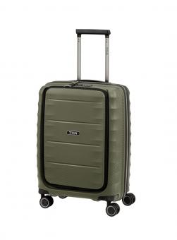 Titan Highlight Trolley S 4 Rollen mit Vortasche Khaki