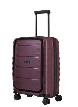 Titan Highlight Trolley S 4 Rollen mit Vortasche Merlot